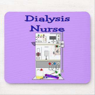 Dialysis Nurse Gifts-Unique Machine Design Mouse Pads