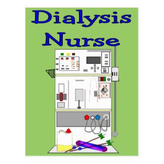 Dialysis Nurse Gifts-Unique Machine Design Postcard