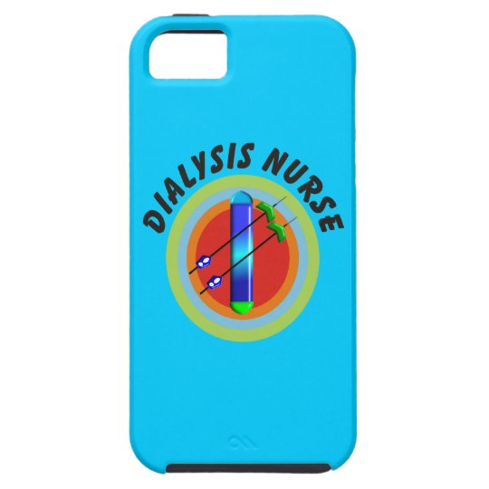 Dialysis Nurse iPhone 5 Case Dialyzer Design