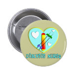 Dialysis Nurse T-Shirts and Gifts Pinback Buttons
