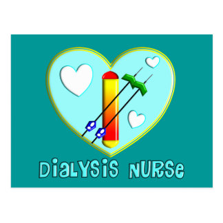 Dialysis Nurse T-Shirts and Gifts Postcard