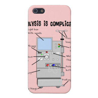 Dialysis Nurse/Tech Funny Gifts Case For iPhone SE/5/5s
