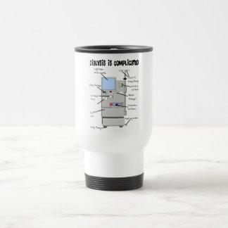 Dialysis Nurse Tech Funny Gifts Coffee Mug