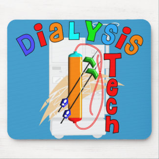 Dialysis Tech Gifts Mouse Pad