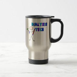 Dialysis Tech STICK MAN Design Travel Mug