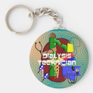 Dialysis Technician Art Gifts Keychain
