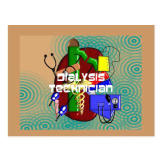 Dialysis Technician Art Gifts Postcard