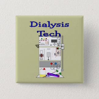 Dialysis Technician--Fresenius Machine Design Button