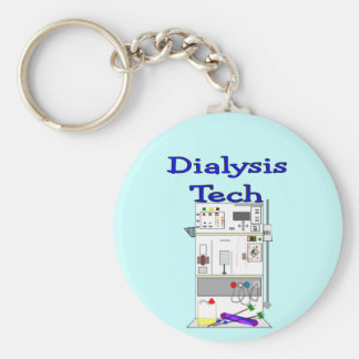 Dialysis Technician--Fresenius Machine Design Keychain
