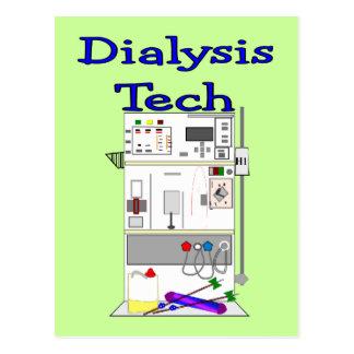 Dialysis Technician--Fresenius Machine Design Postcard