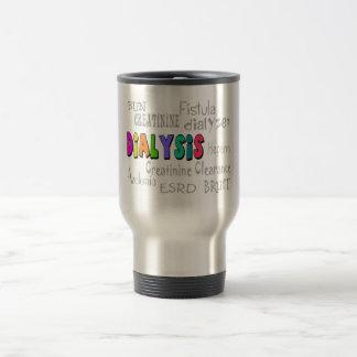 Dialysis Terminology Gifts Travel Mug