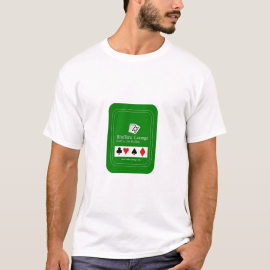 Diam-Clubs-Spades-Hearts, BLUFF OR GET BLUFFED,... T-Shirt