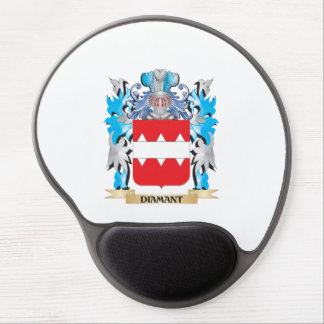 Diamant Coat of Arms - Family Crest Gel Mouse Pad