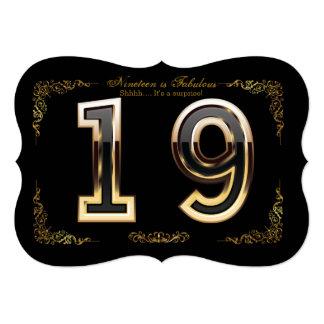 """Diamante 10-99, número de DIY, texto, fondo del Invitación 5"""" X 7"""""""