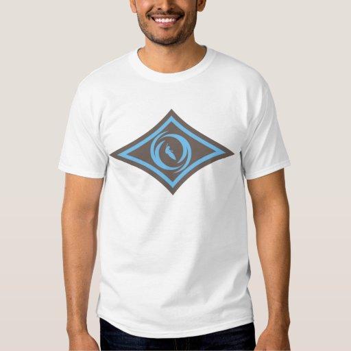 Diamante 2 de la onda camisas
