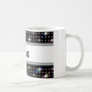 Diamante 500 del deslumbramiento tazas