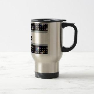 Diamante 501 del deslumbramiento taza de café
