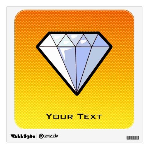 Diamante amarillo-naranja