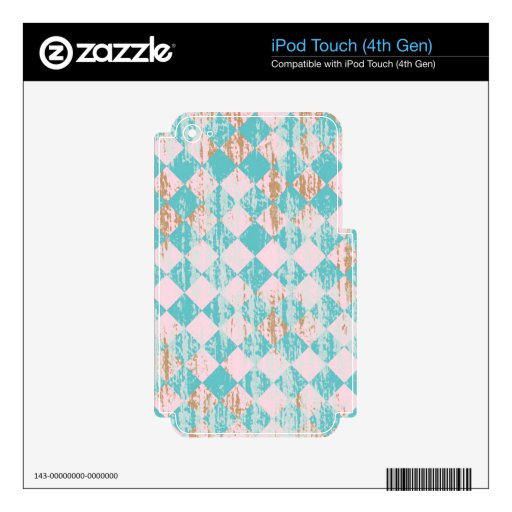 Diamante apenado iPod touch 4G skins