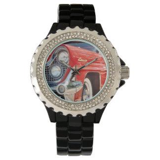 Diamante artificial 1959 de Lincoln con el esmalte Relojes