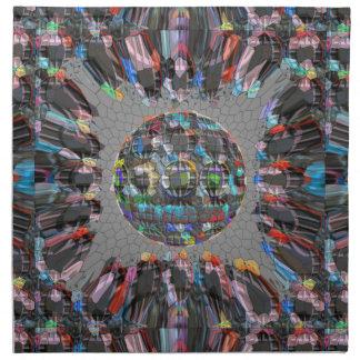 Diamante artístico pintado Digital Servilleta