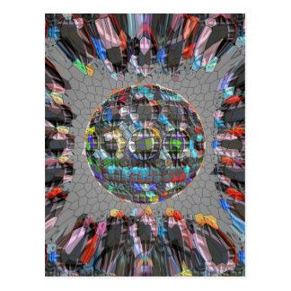 Diamante artístico pintado Digital Tarjetas Postales
