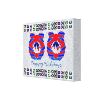Diamante azul de HappyHolidays - decoraciones de l Impresion En Lona