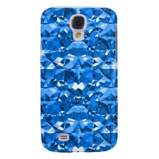 Diamante azul eléctrico funda para galaxy s4
