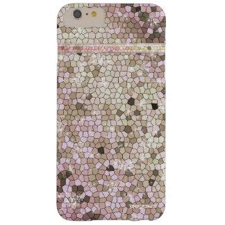 Diamante Bling de princesa Goddess White Opal Funda Para iPhone 6 Plus Barely There