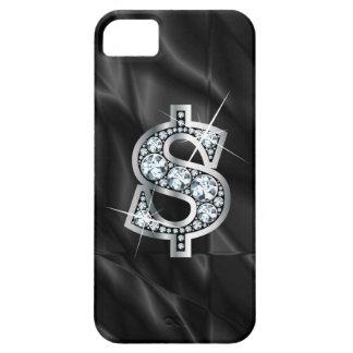 """$ """"diamante Bling """" iPhone 5 Fundas"""
