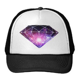 Diamante cósmico gorras