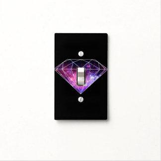 Diamante cósmico cubiertas para interruptor