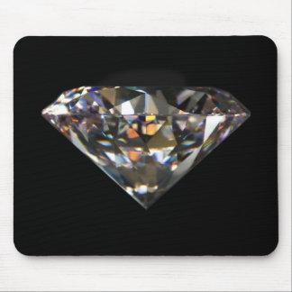 Diamante de 200 quilates alfombrillas de ratón