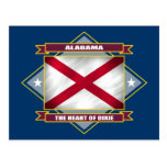Diamante de Alabama Tarjetas Postales