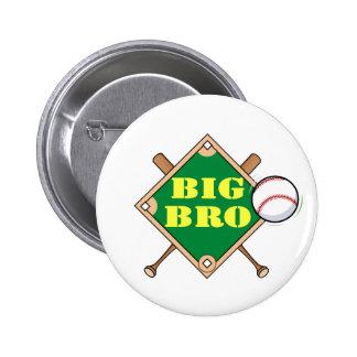 Diamante de béisbol de hermano mayor pin