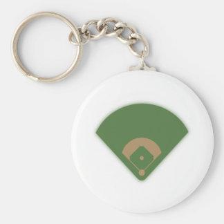 Diamante de béisbol: llaveros personalizados