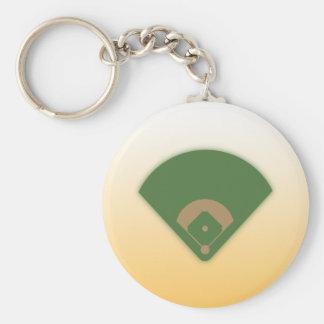 Diamante de béisbol: Llavero