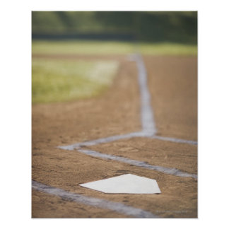 Diamante de béisbol posters