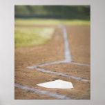 Diamante de béisbol póster