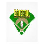 Diamante de béisbol tarjetas publicitarias
