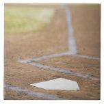 Diamante de béisbol tejas  cerámicas