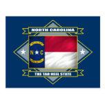Diamante de Carolina del Norte Postal