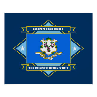 Diamante de Connecticut Poster