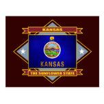 Diamante de Kansas Postales