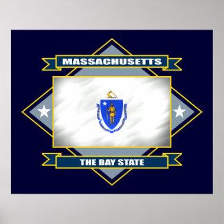 Diamante de Massachusetts Poster
