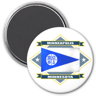 Diamante de Minneapolis Imanes Para Frigoríficos