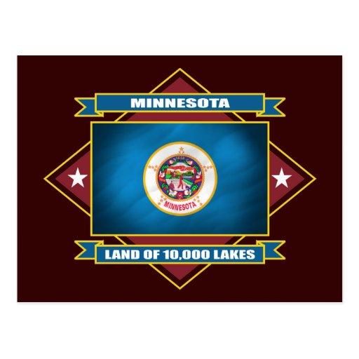 Diamante de Minnesota Postal