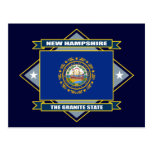 Diamante de New Hampshire Postales