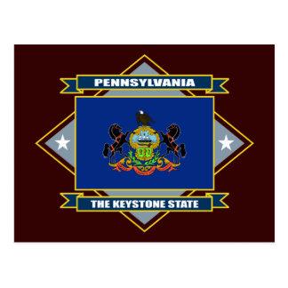 Diamante de Pennsylvania Tarjeta Postal