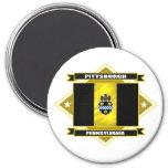 Diamante de Pittsburgh Imán De Frigorifico